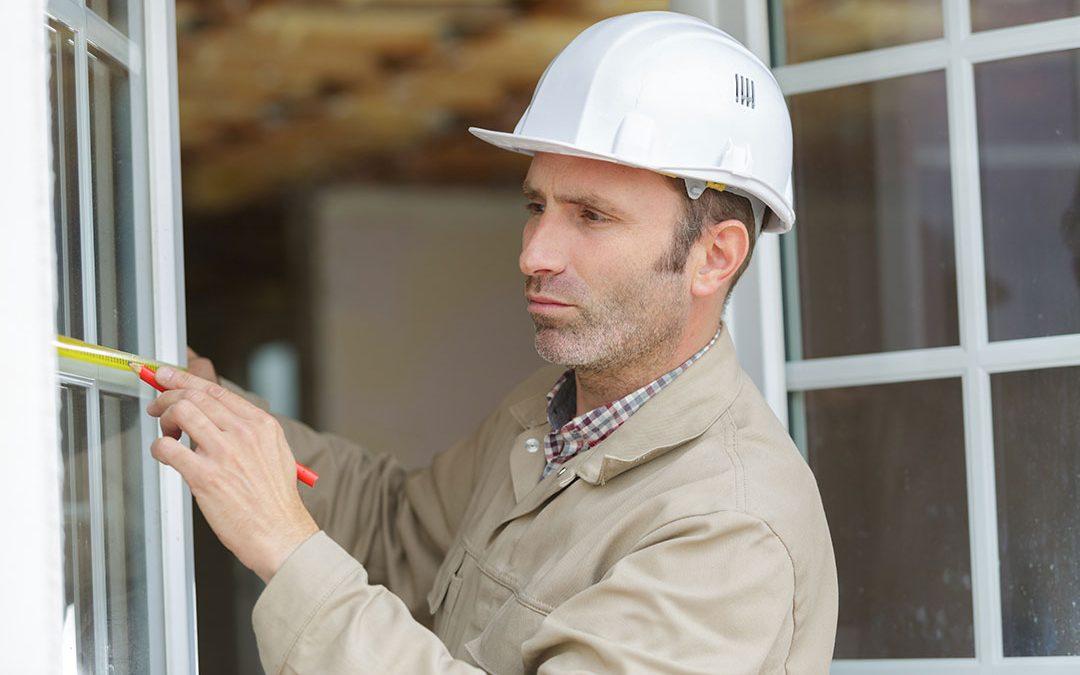measuring window installation
