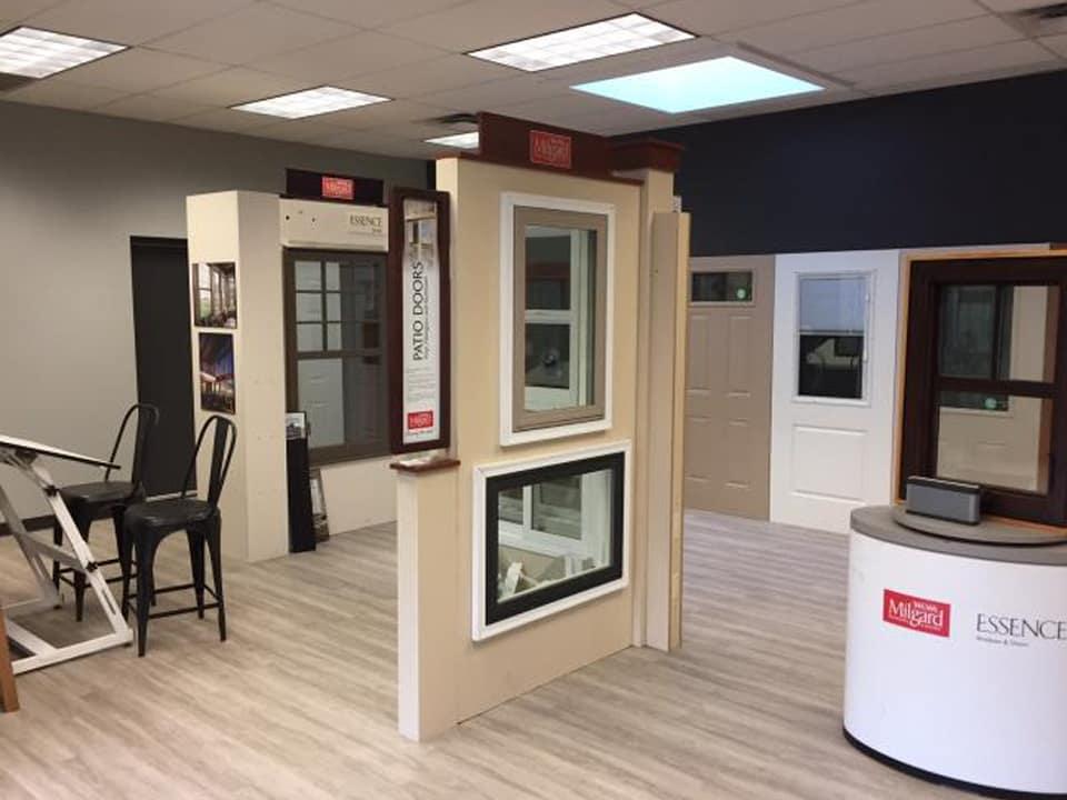 trademark glass works salmon arm showroom